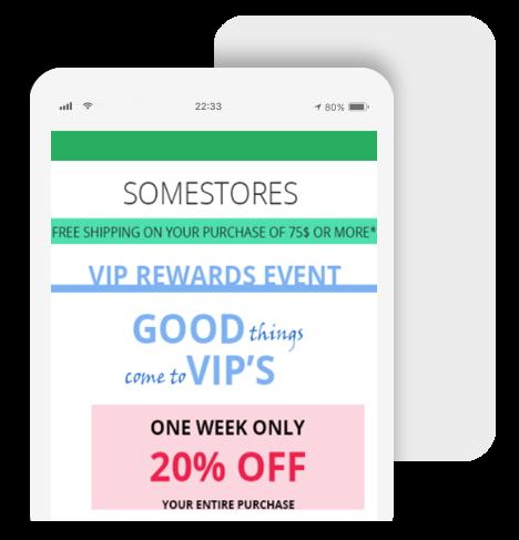 Bayengage Customer loyalty email Campaigns