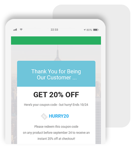 Bayengage Drip email Campaigns