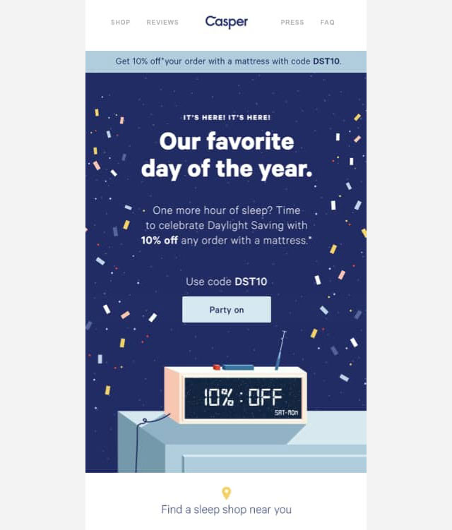 Offer Email Campaign