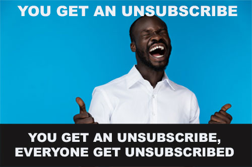 Shopify email unsubscribe