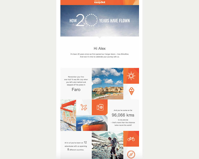 celebrate journey for email engagement