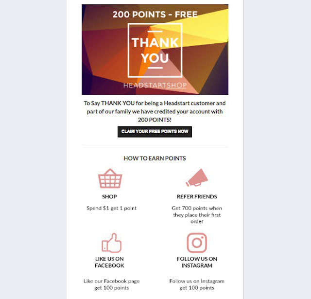 loyalty program for email engagement