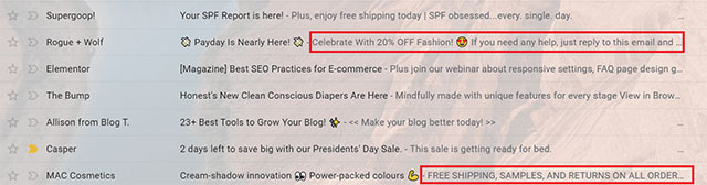 pre header text for email engagement