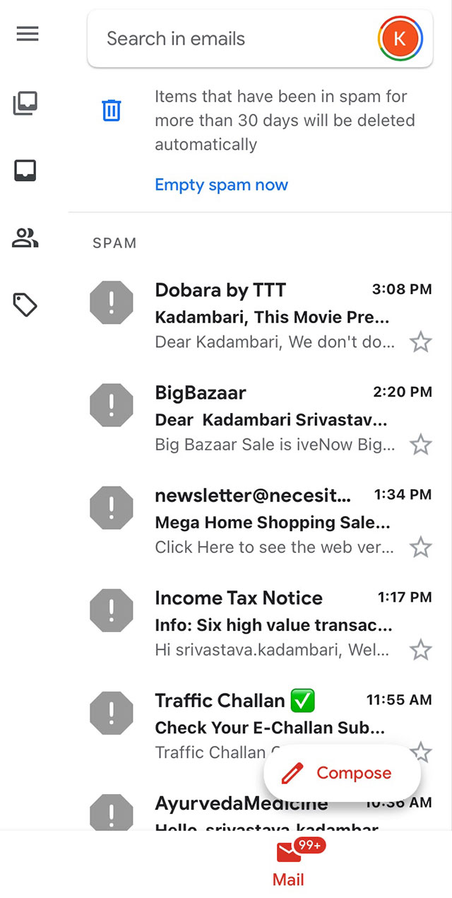 shopify emails in spam