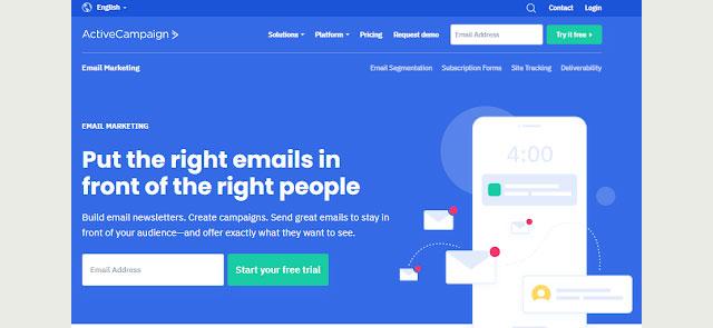 active campaign mailchimp competitor