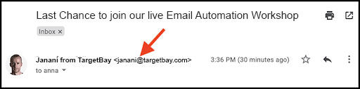 take care of your email address